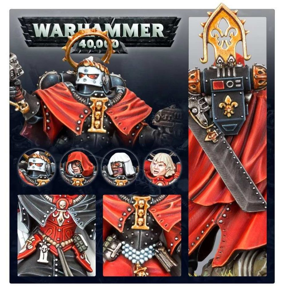 canoness battle sister warhammer 40k