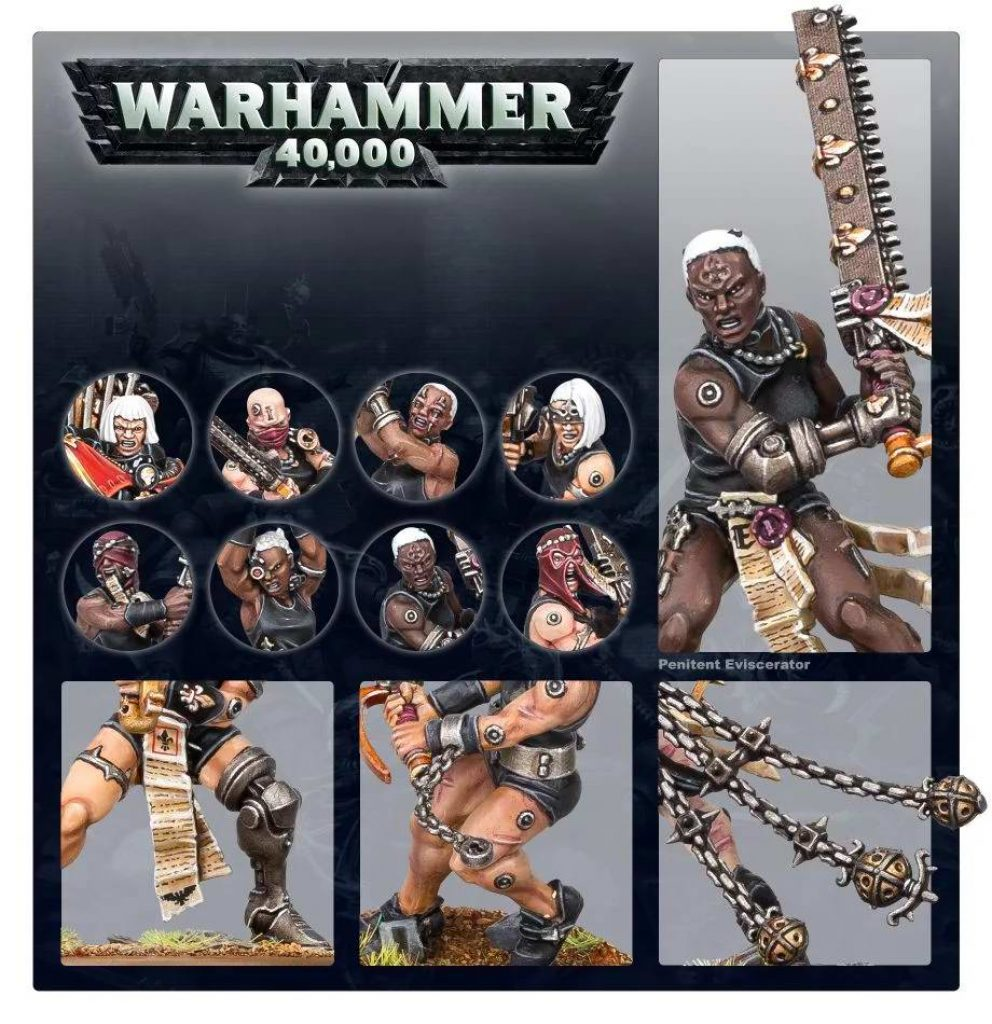 Repenia battle sister warhammer 40K
