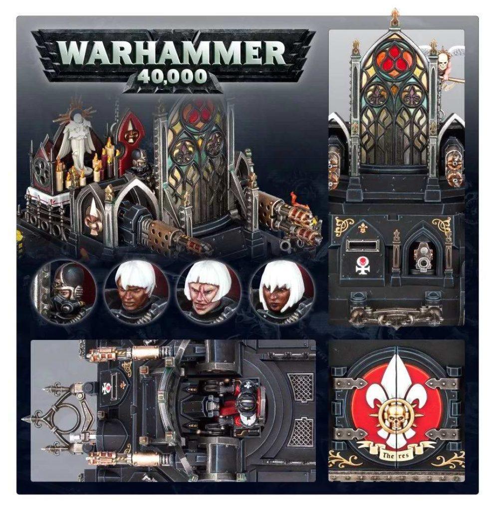 Immolator Adepta Sororitas Warhammer 40K