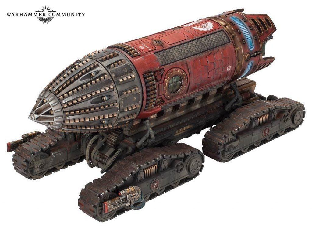 Ordinatus Aktaeus mecanicus warhammer 30k