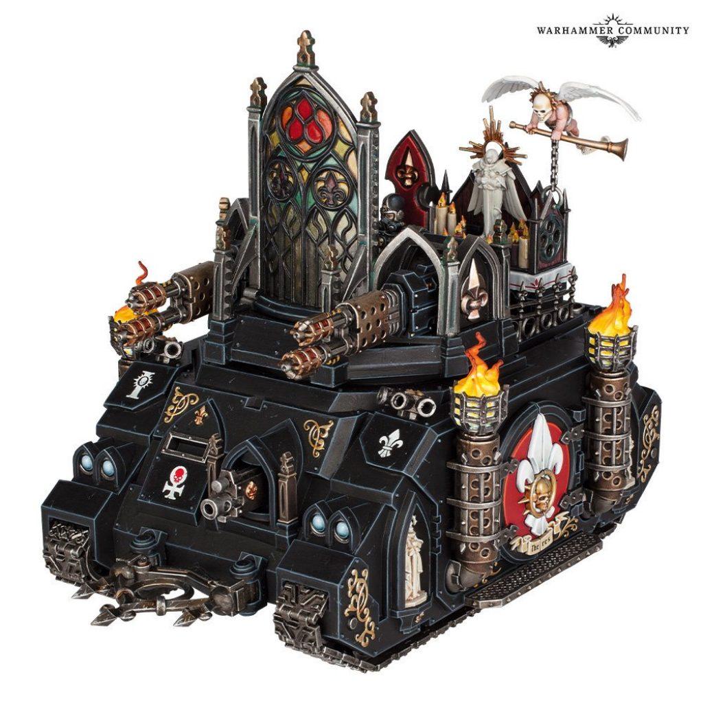 Immolator battle sister warhammer 40k