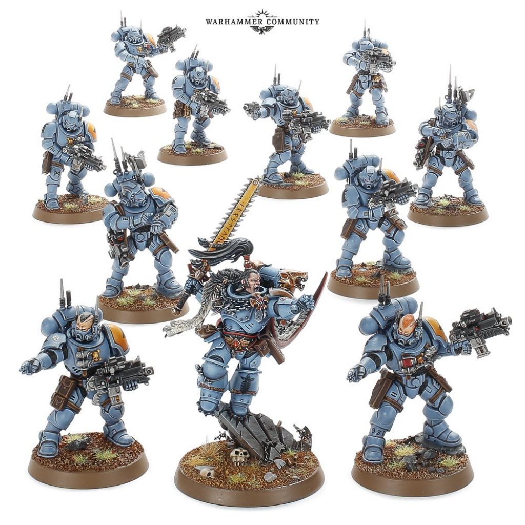Ragnar and space wolves primaris