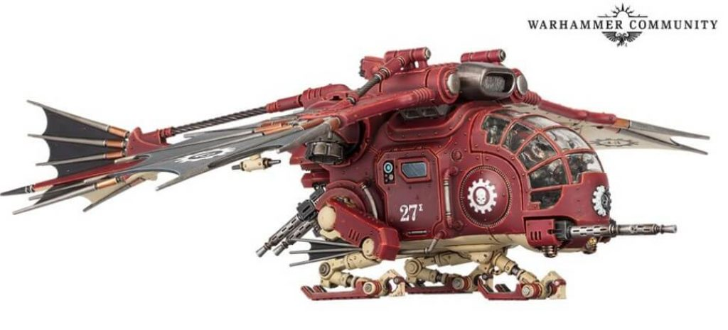 Archaeopter Transvector Ad Mech Warhammer 40k