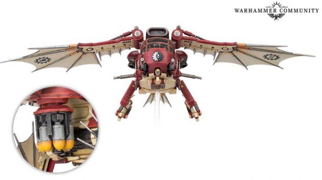 Archaeopter FusilaveAd Mech Warhammer 40k