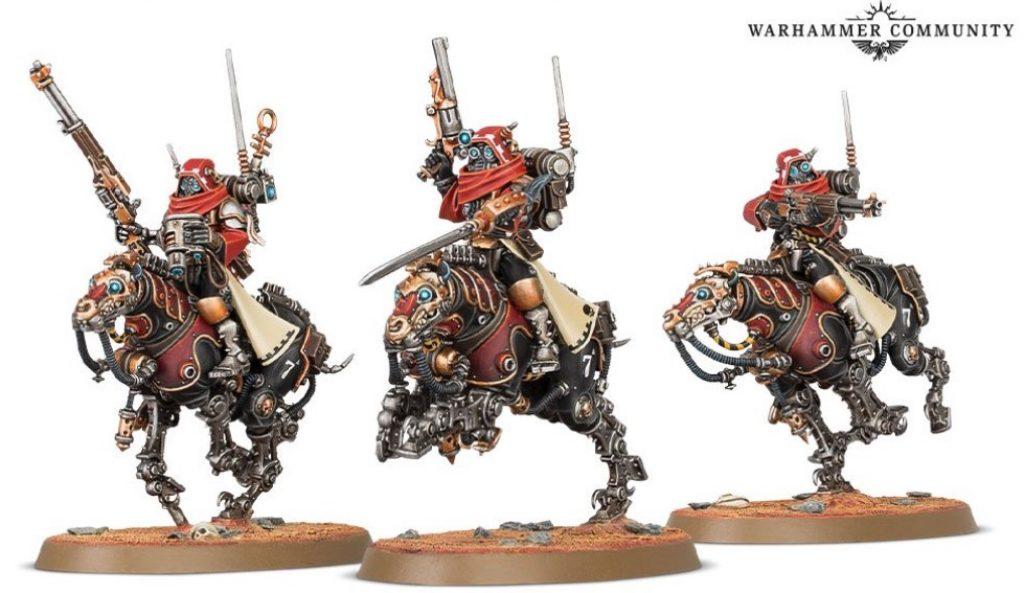 serberys cavalry ad mech warhammer 40k