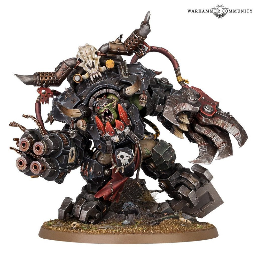Ghazkull Warhammer 40K