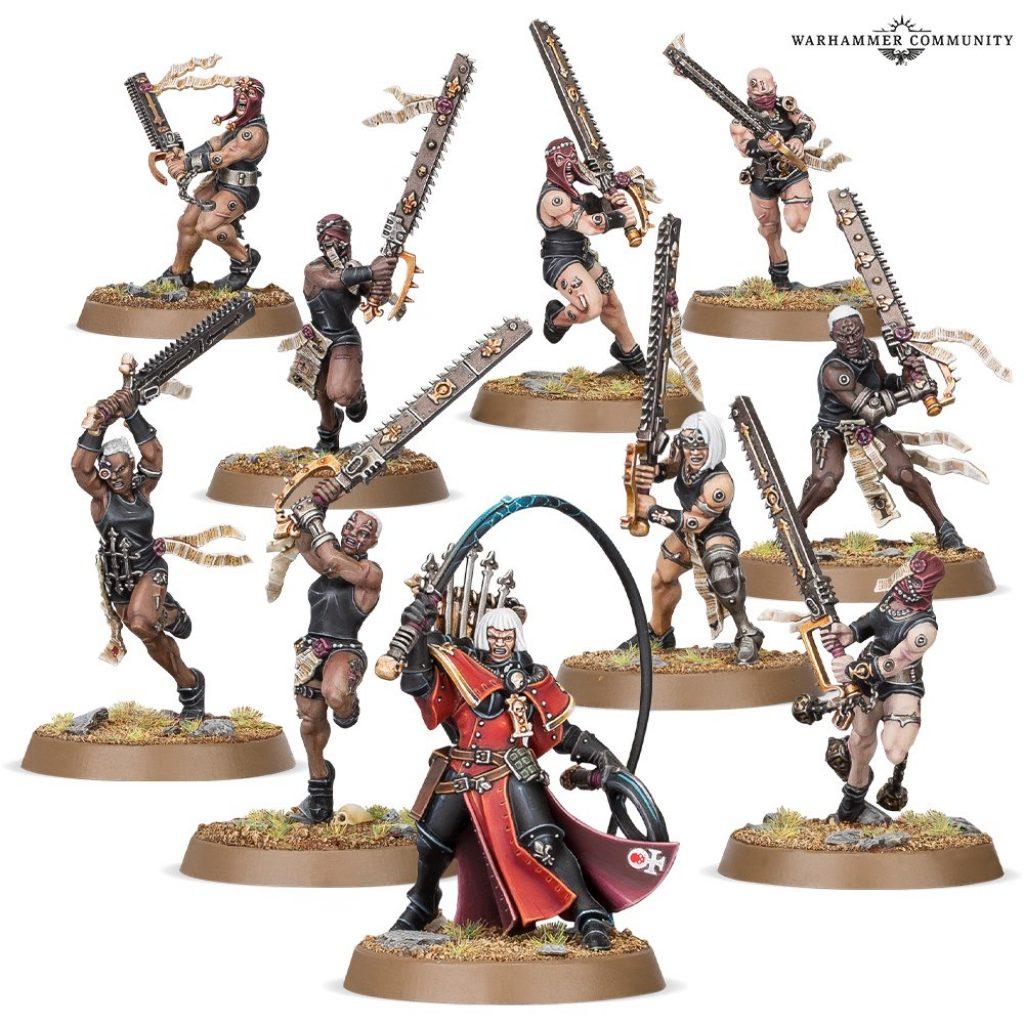 repetia battle sister warhammer 40k