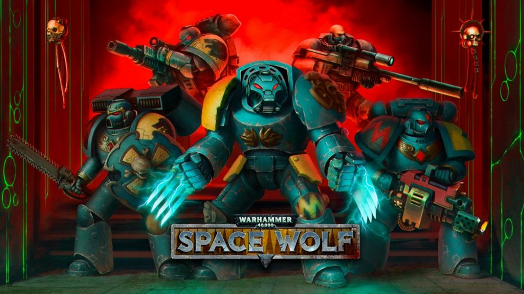 Space Wolf Nintendo Switch videogame