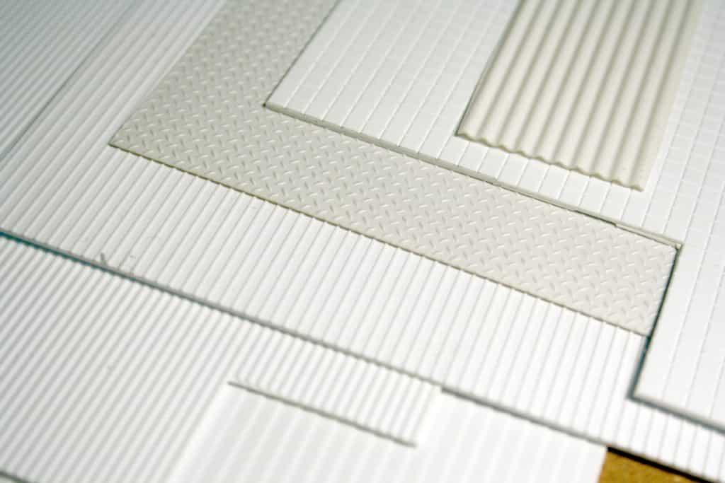 Carte plastique texturée