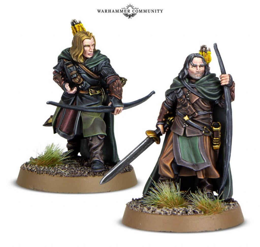 Faramir Rangers Anborn and Mablung Middle Earth