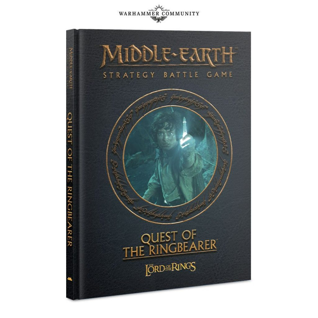 Rulebook Middle Earth Quest of the Ringbearer