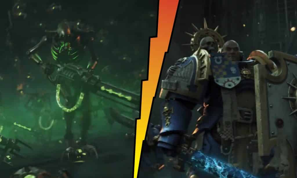 video v9 warhammer 40k extract