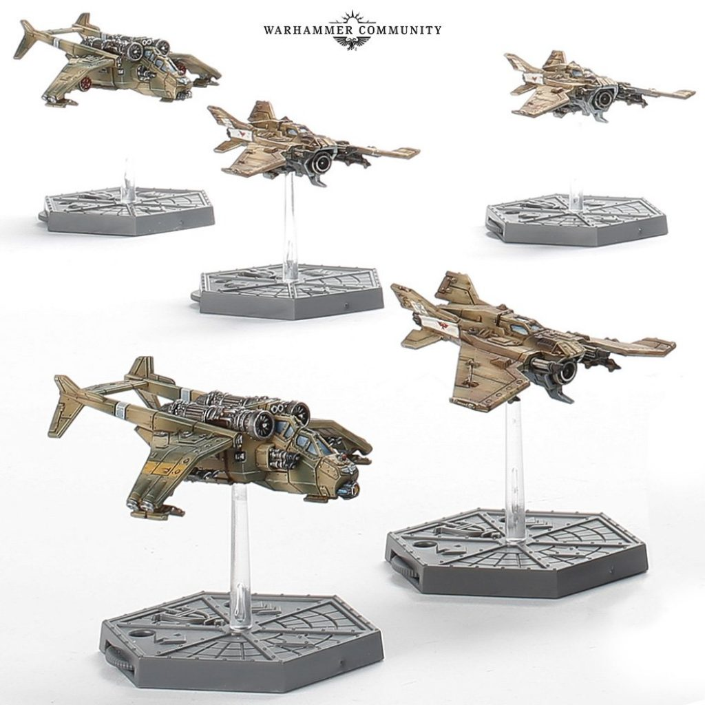 Sky's on fire Imperial Navy & Astra Militarum