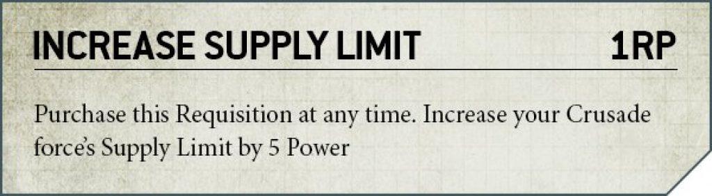 Crusade Warhammer 4k V9 Rule