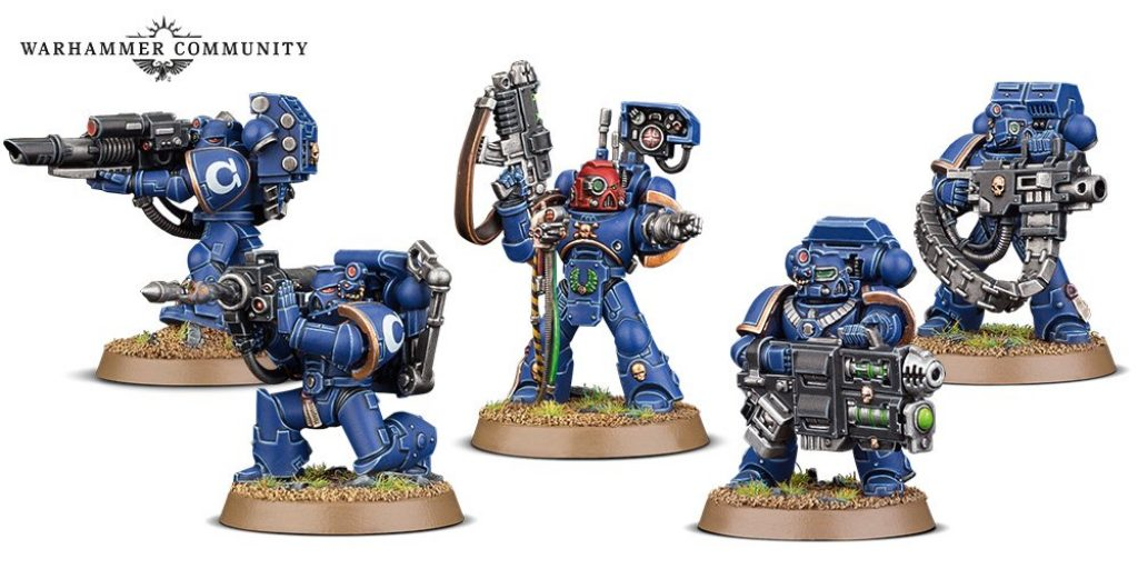 Davastator Squad Space Marines