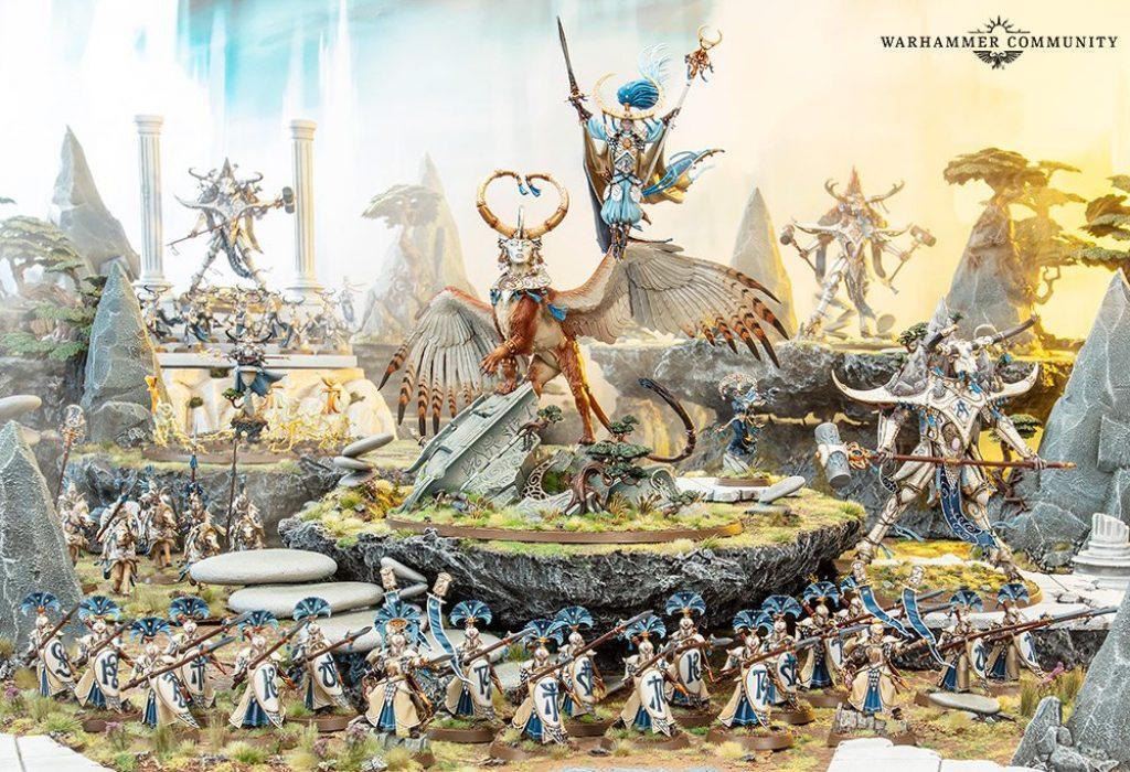 Lumineth army