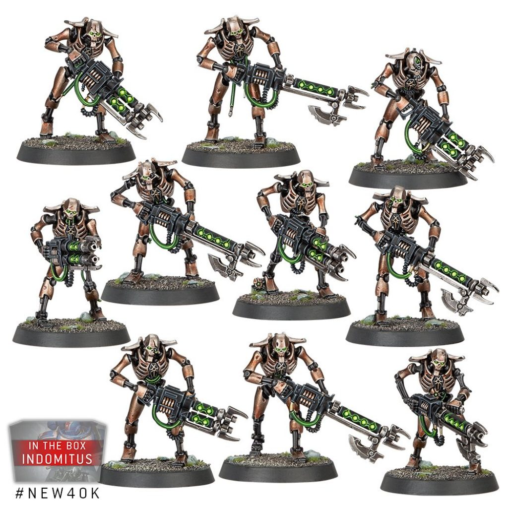 Necron Warriors Starter Recruit Edition
