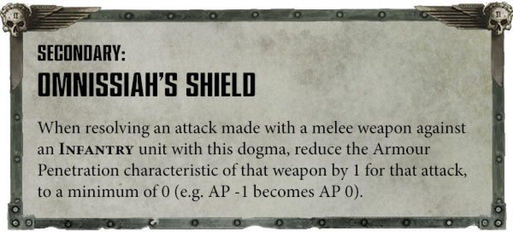 Ad Mech Engine War Rule