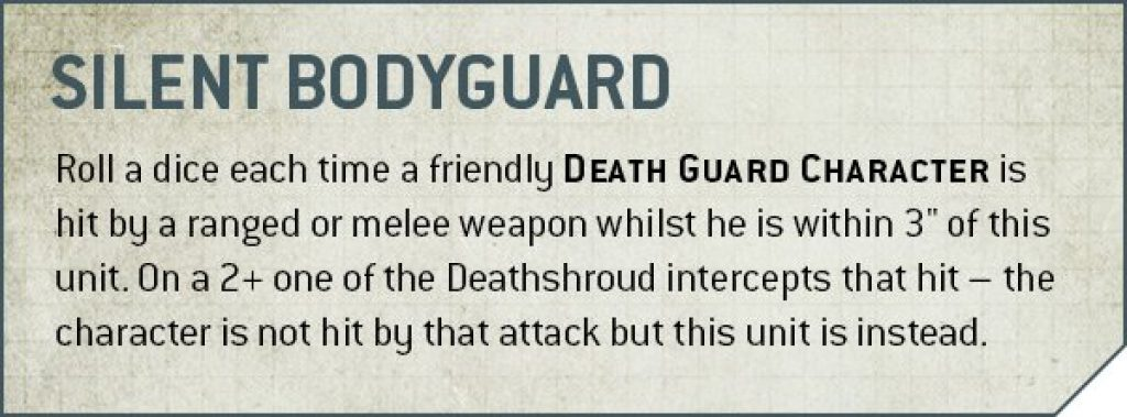Silent Bodyguard rule