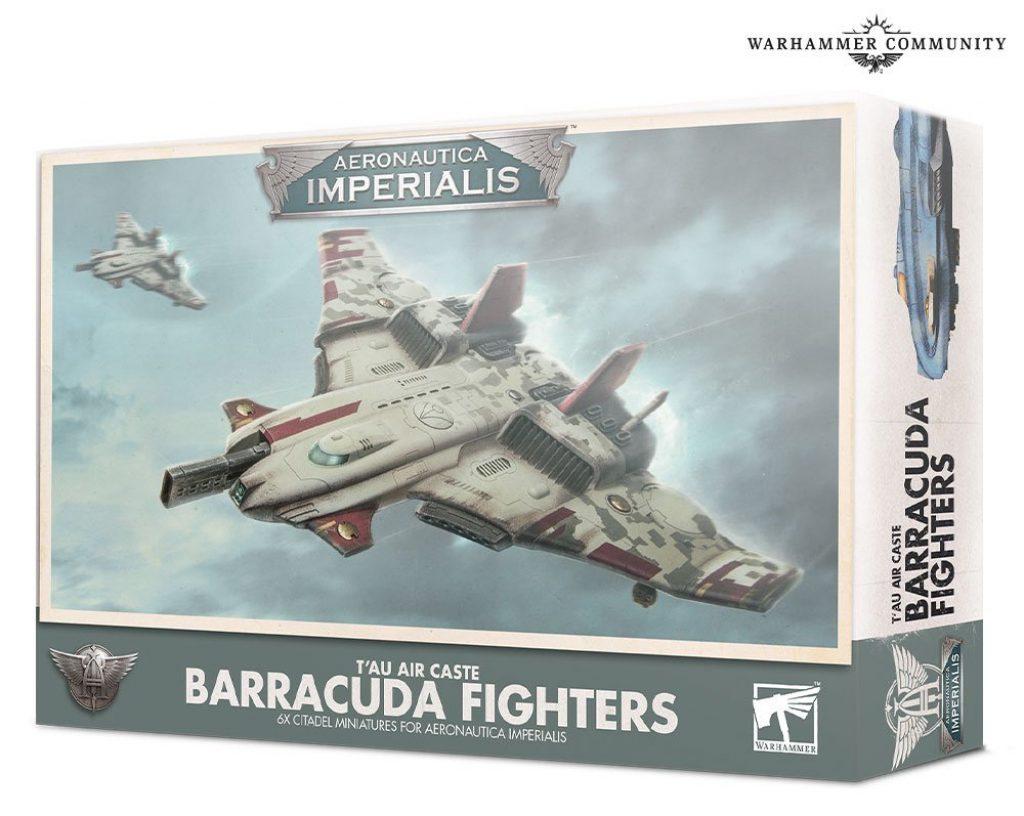 T'au Barracuda Fighters