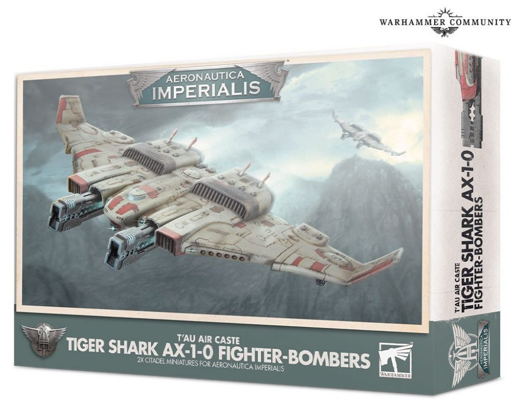 T'au Tiger Shark AX-1-0 Fighter-Bombers