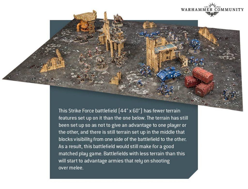 V9 Warhammer Terrain Rule