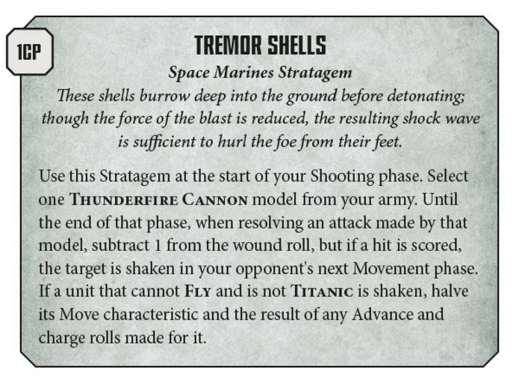 V9 Space Marines Rule