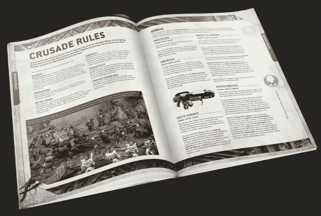 Codex Space Marines V9
