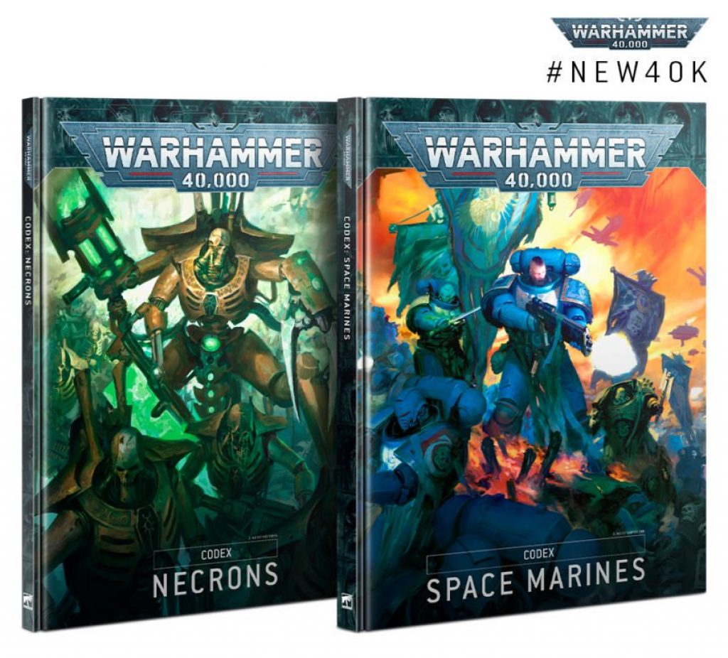 Codex Necron et Space Marines V9