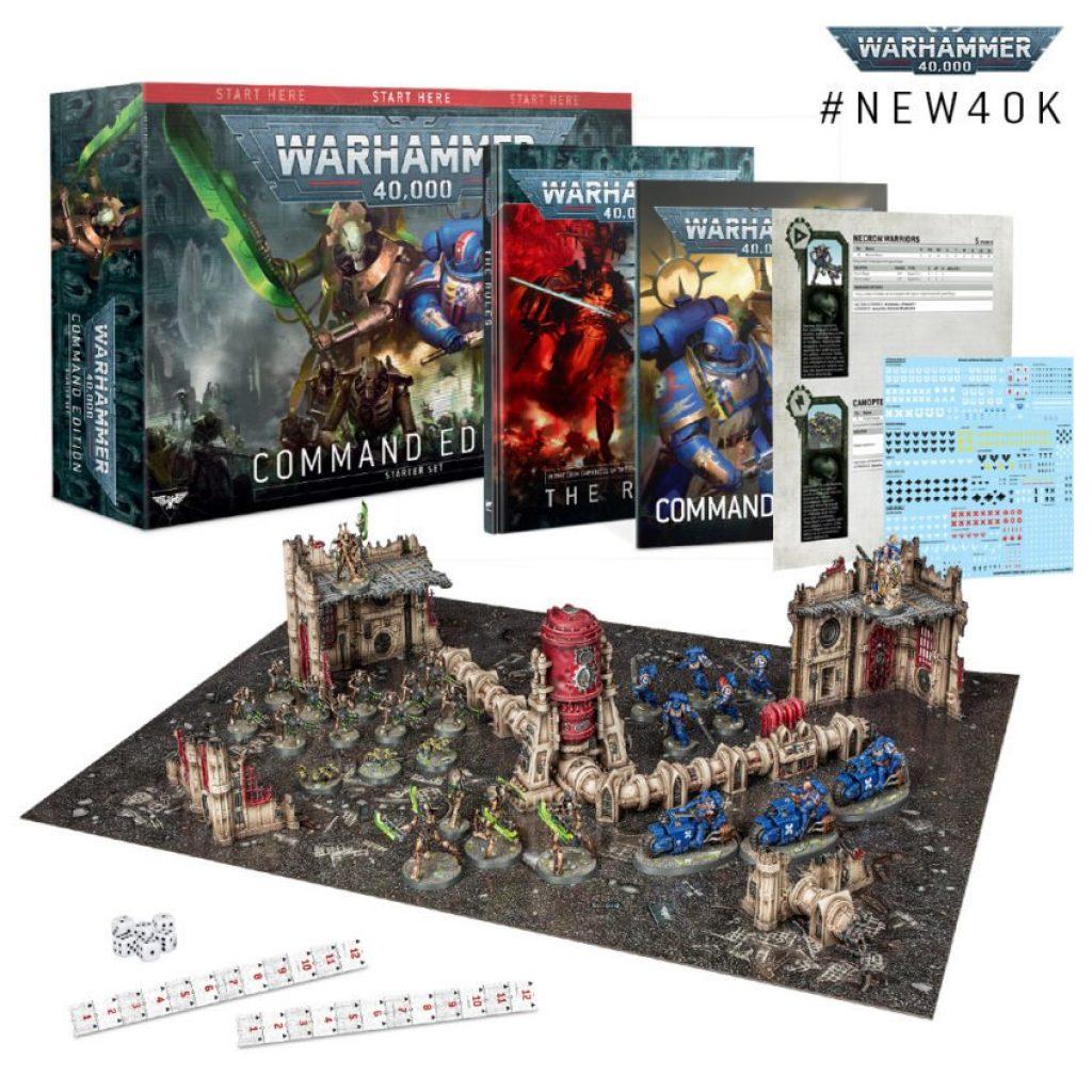 Warhammer 40K Command Edition Set