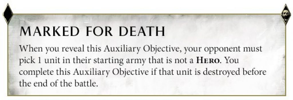 marked of death rule AoS