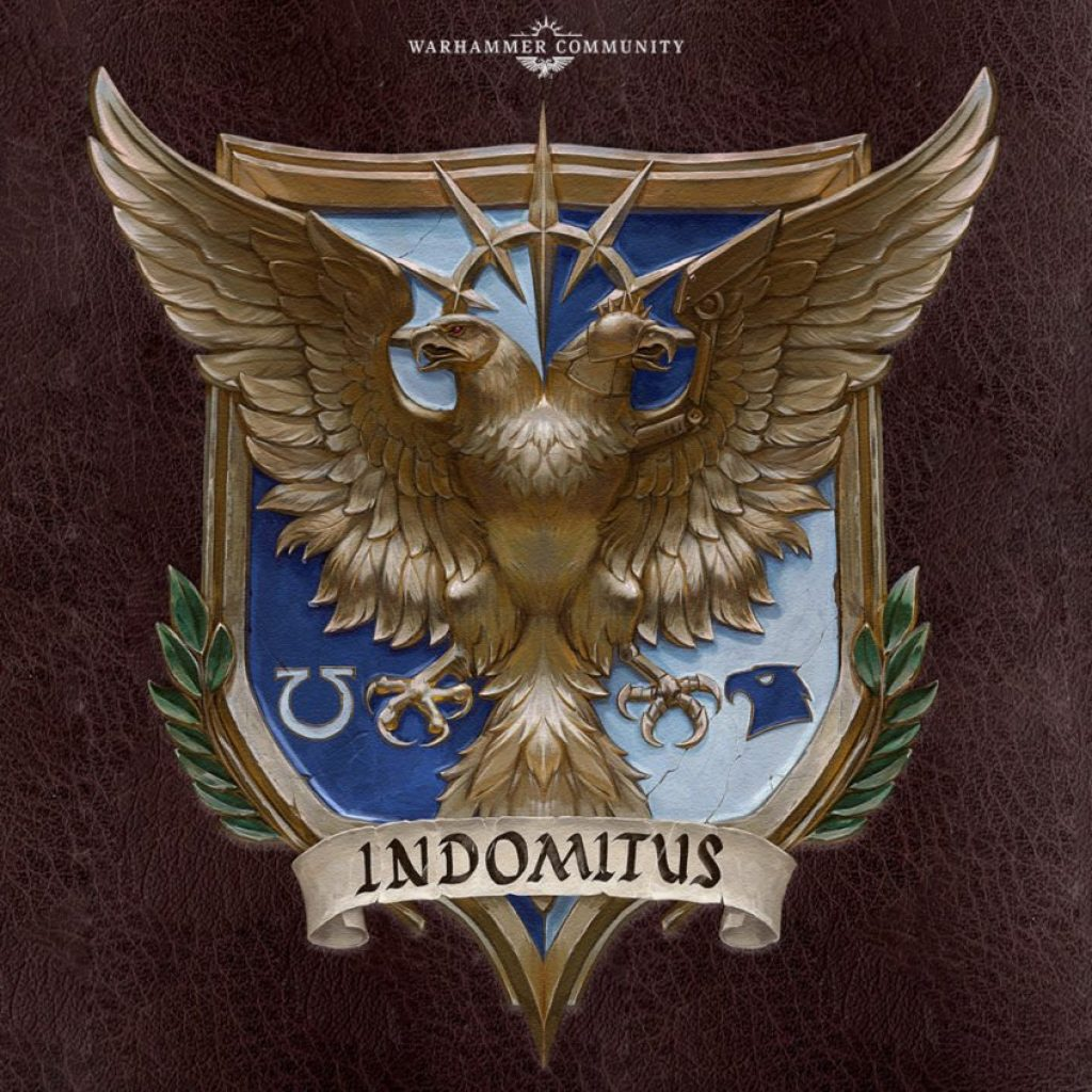 Indomitus Black Library Logo