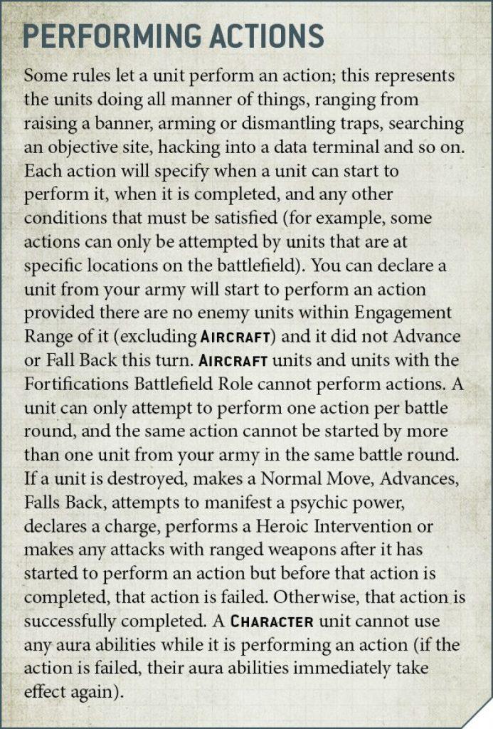 Warhammer 40K V9 Rules