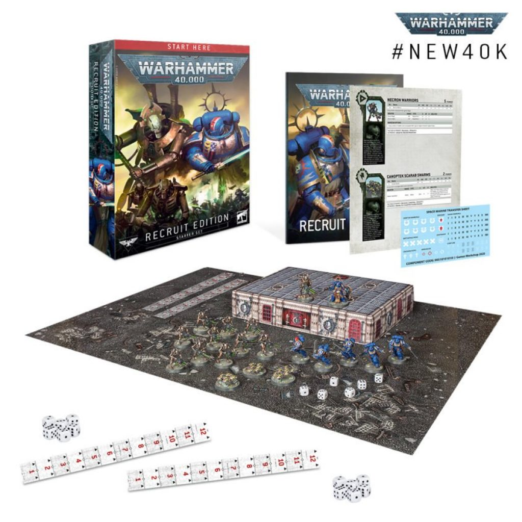 Warhammer 40.000 Starter Recruit Edition Box
