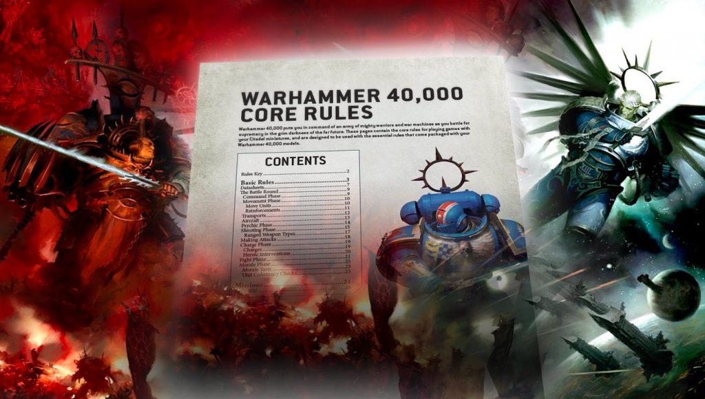 Règles Gratuites Warhammer 40K V9