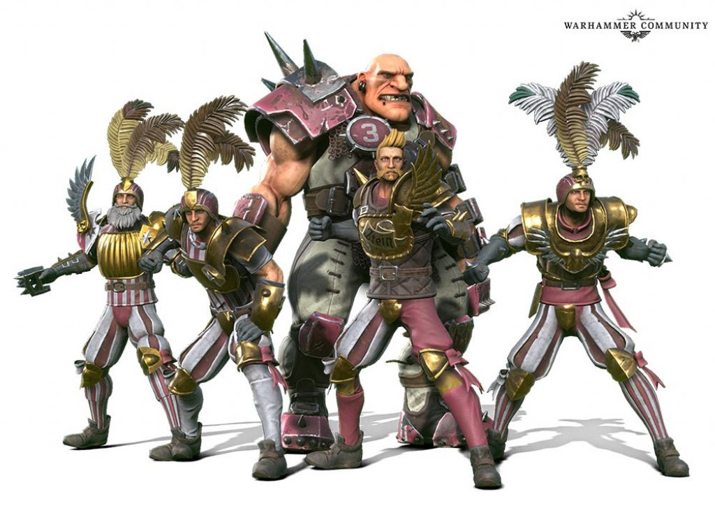 Blood Bowl 3 human team
