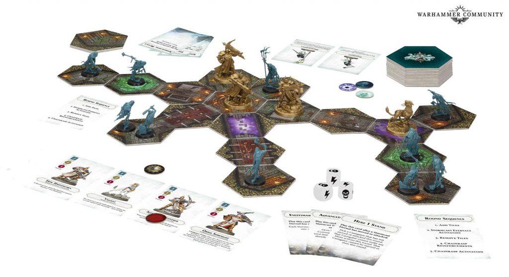 AoS Crypt Hunters Box Board