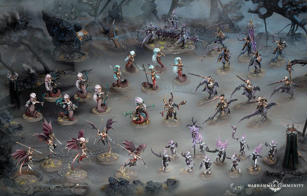 Age of Sigmar Shadow & Pain Armies