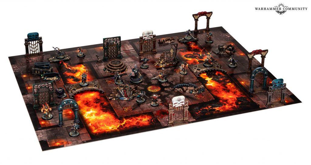 Warcry Board lava