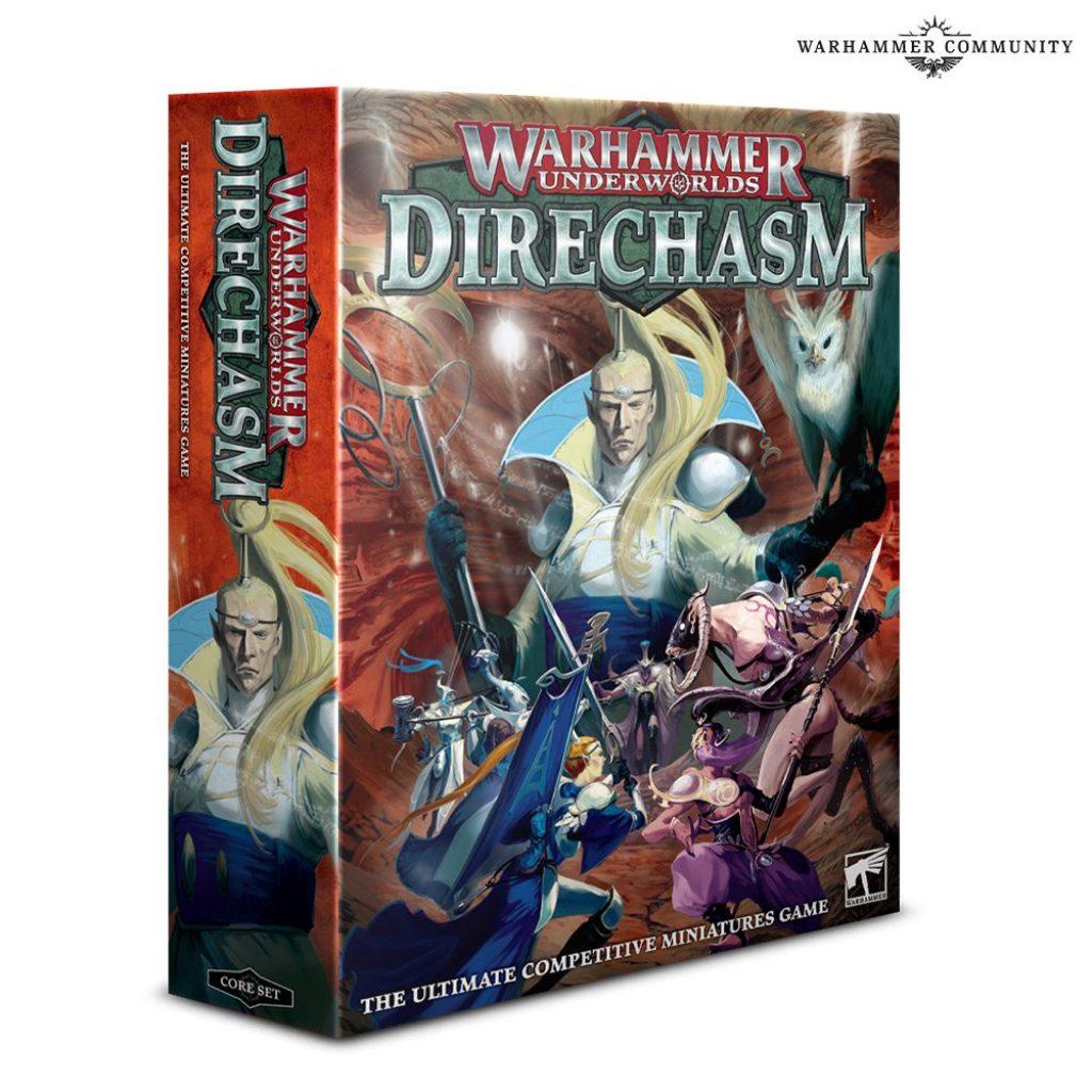 Warhammer underworlds Direchasm box