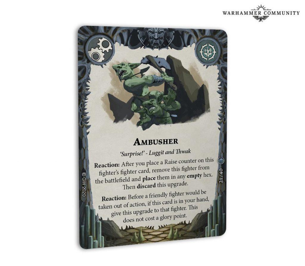 ambusher card arena mortis