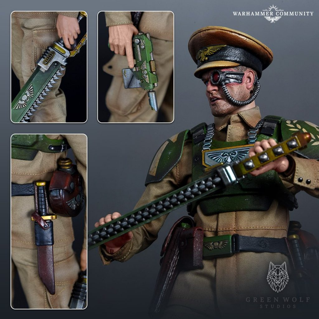 Green Wolf Studios Cadian Officer