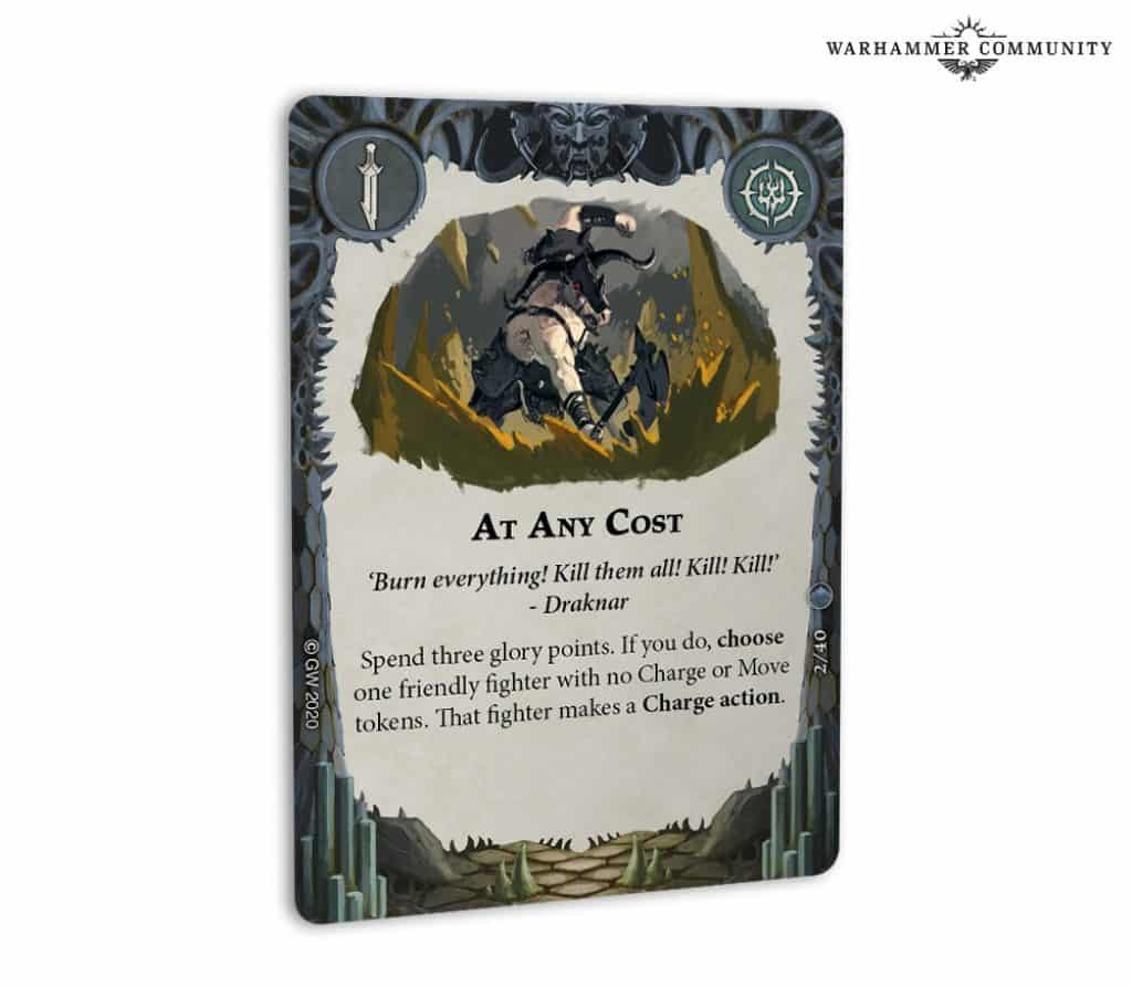 at any cost card arena mortis