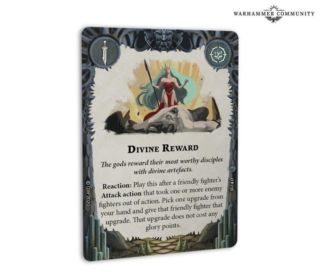 divine reward card arena mortis