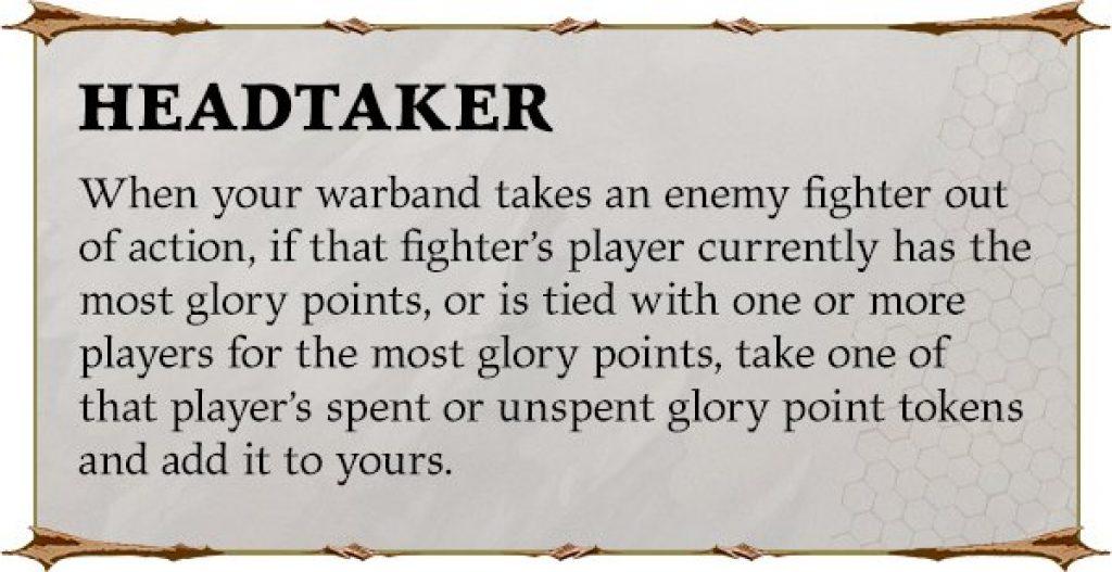 headtaker underworlds rules