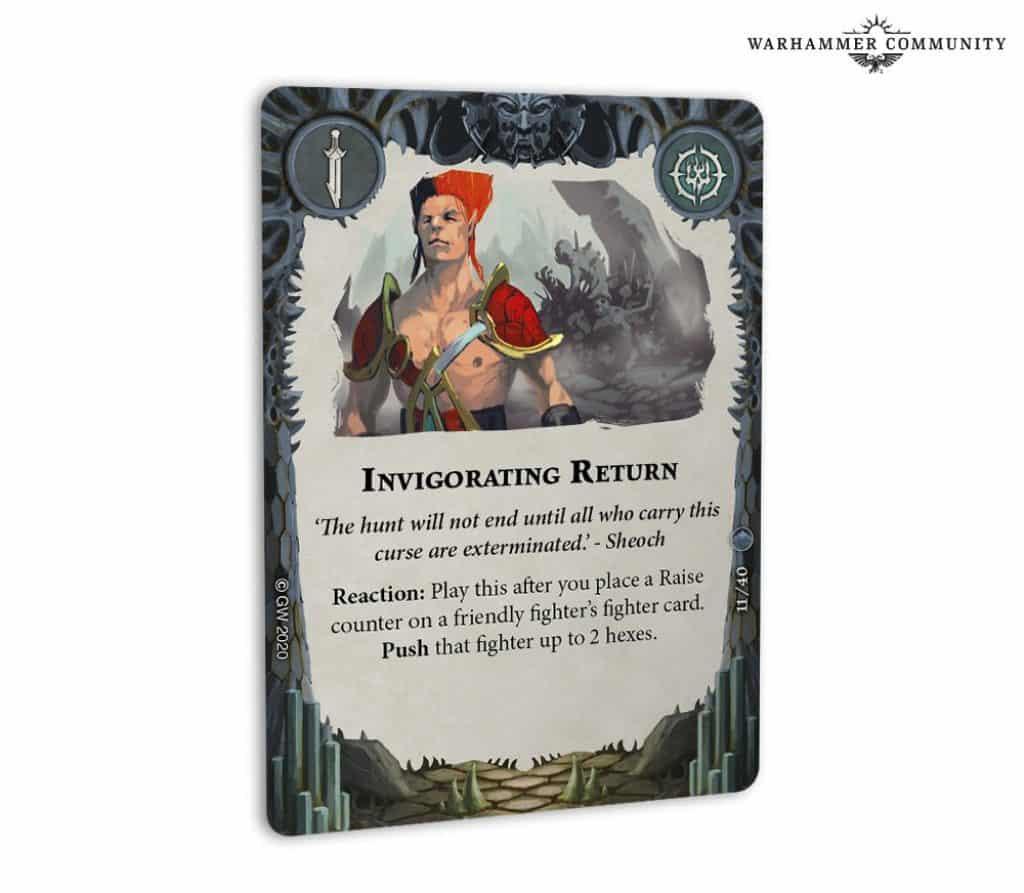invigorating return card arena mortis