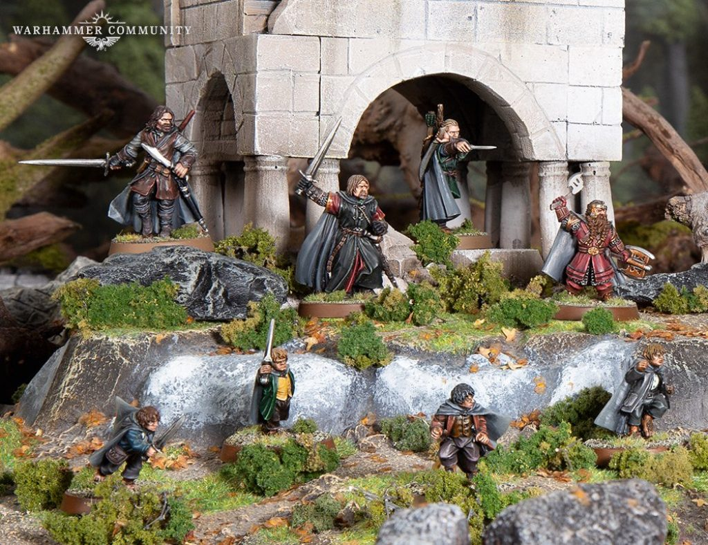 Middle Earth Quest of the Ringbearer
