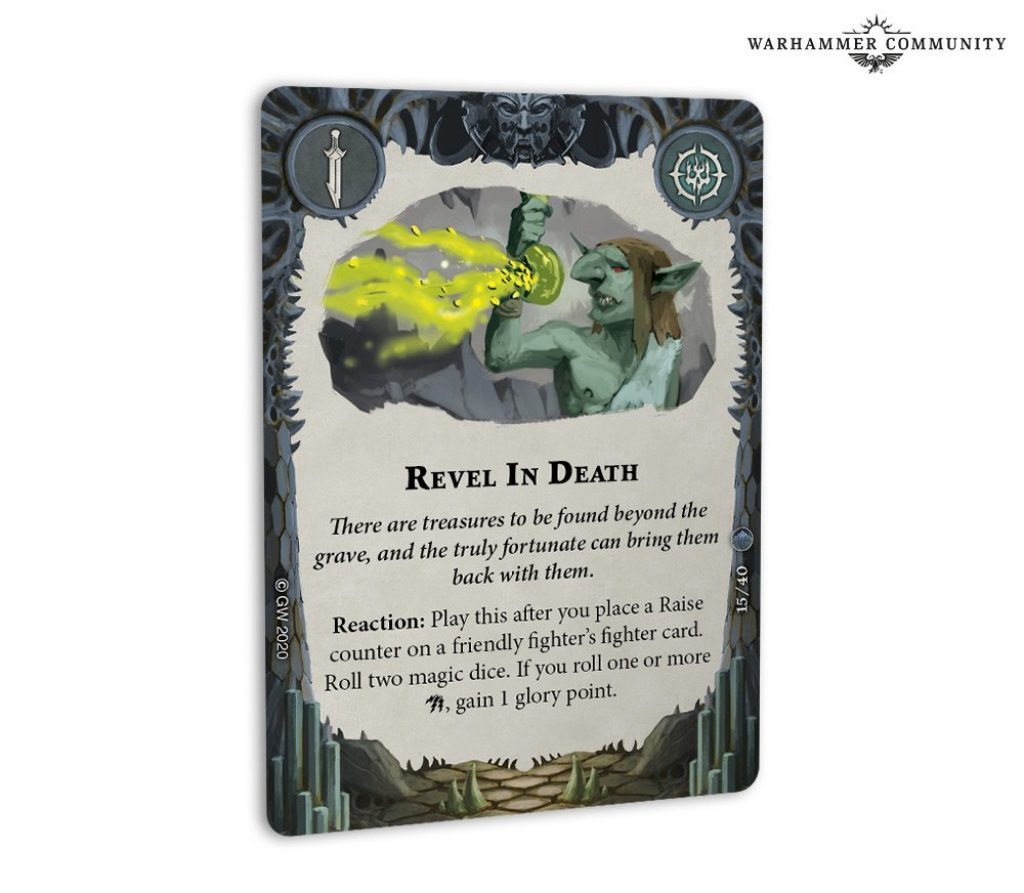 Revel in Death card arena mortis
