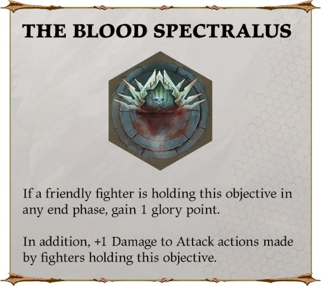 The Blood Spectraclus rules