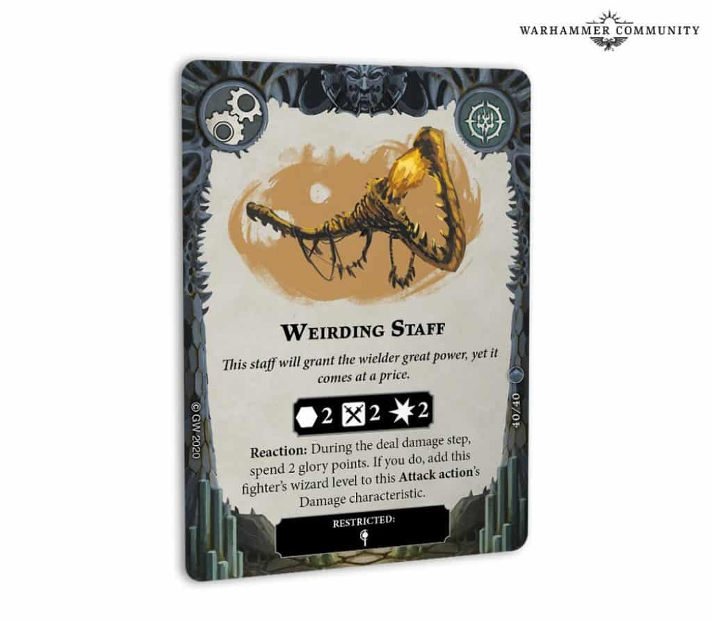 Weirding Staff card arena mortis